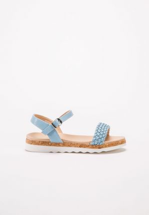 Girl's Cork Slide Sandal
