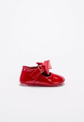 Satin Bow Details Kid's Shoes