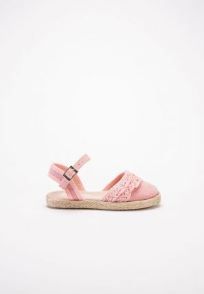 Lace-Up Flat Form Espadrille