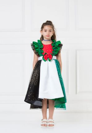 UAE National Day High Low  Dress