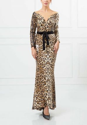 Animal Printed Empire dress