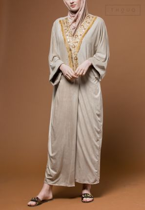 Front Lace Open Bisht