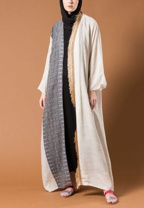 Double Shaded Open Bisht
